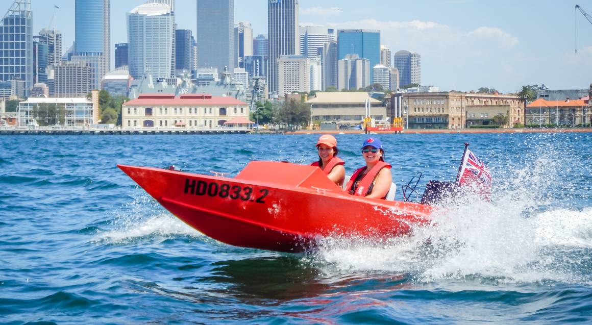 Guided Sydney Harbour Self-Driven Boat Tour Weekday - For 2