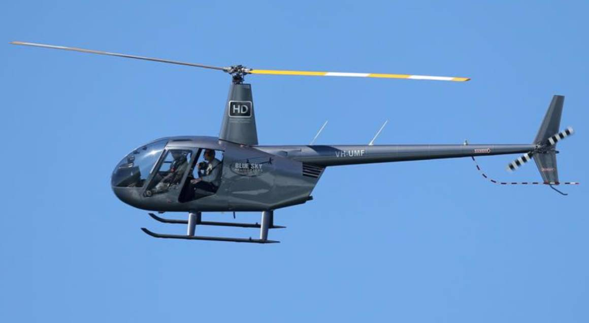 Doors Off Helicopter Aerial Photography Flight - Up To 3