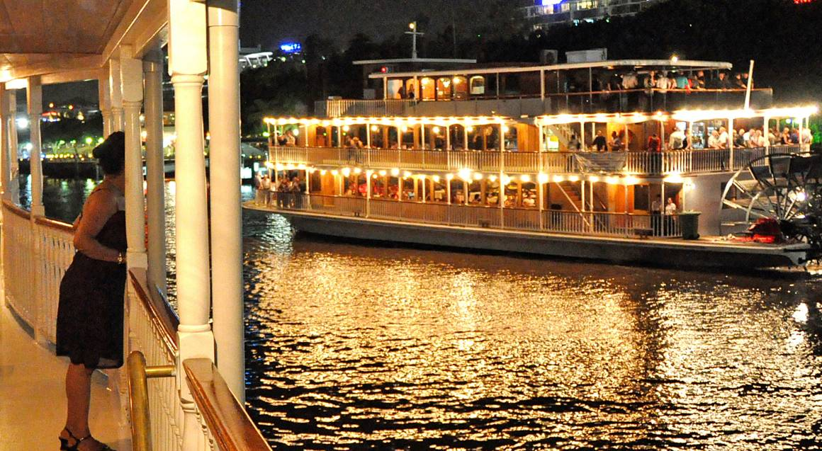 Dinner Cruise on the Brisbane River - For 2