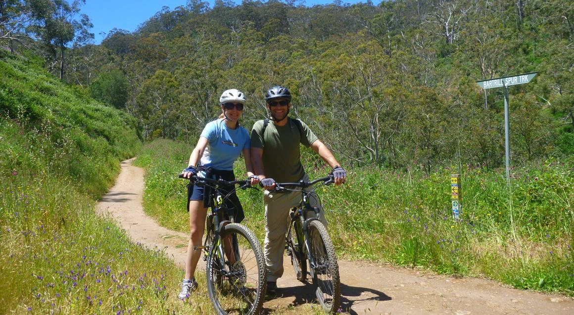 Mount Lofty Descent by Mountain Bike