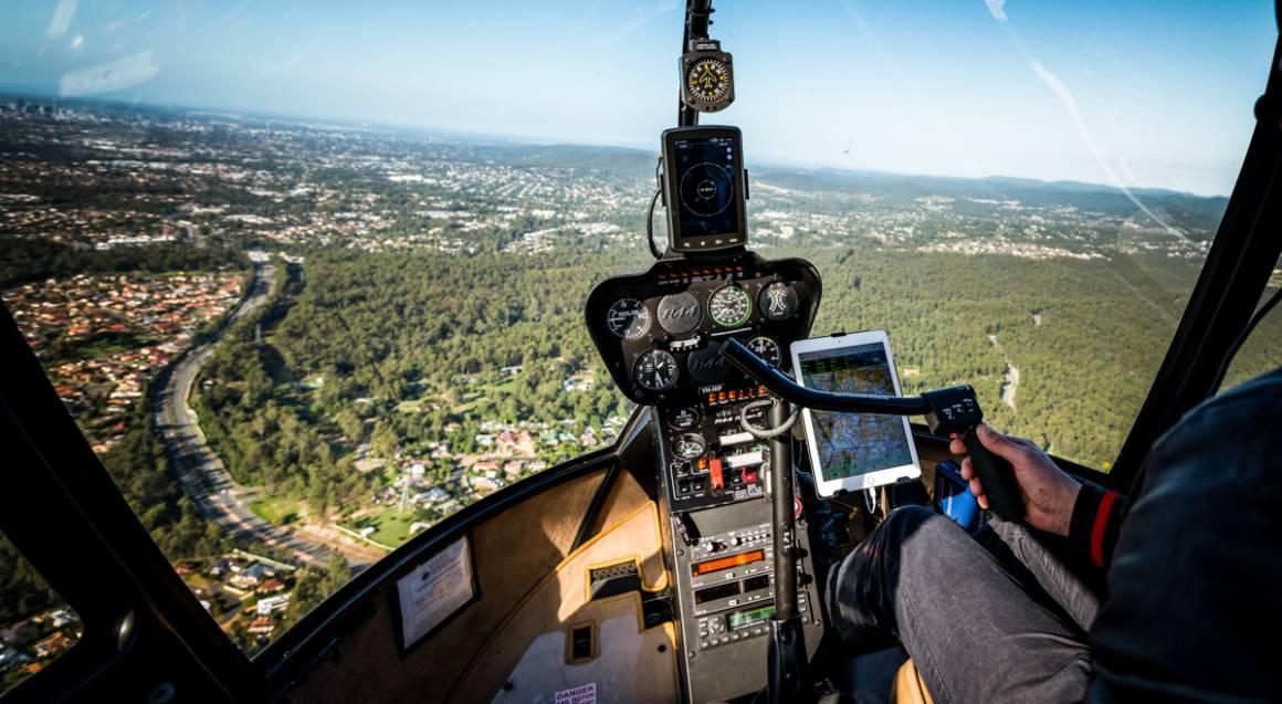 Private Helicopter Flight with Winery Stop - For up to 3