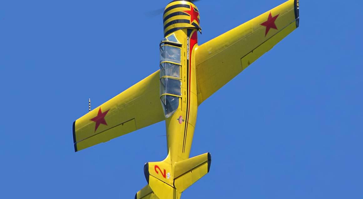 Aerobatic Flight Reconnaissance Mission
