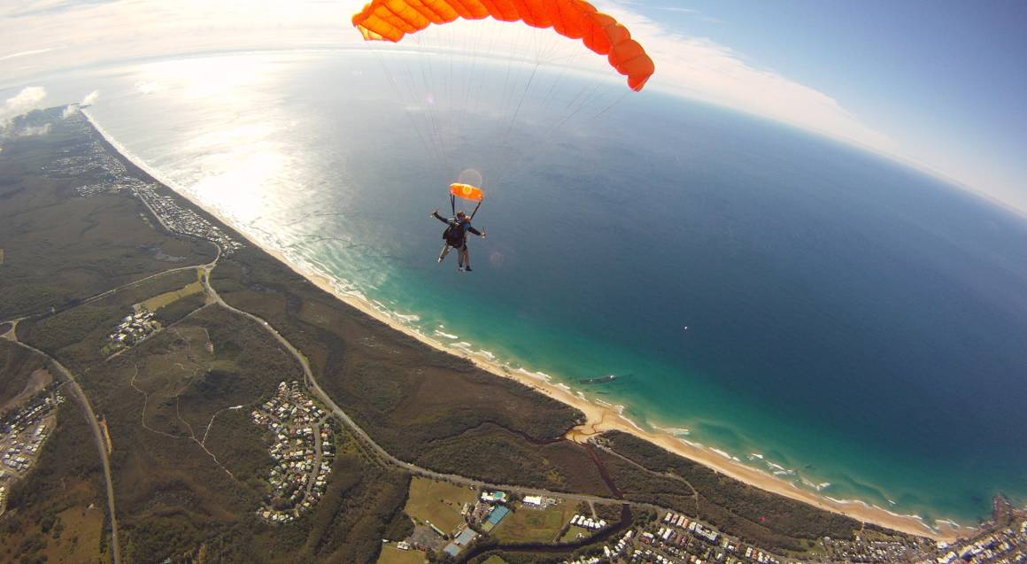 Skydive Over Sunshine Coast - Up To 15,000ft - Weekend