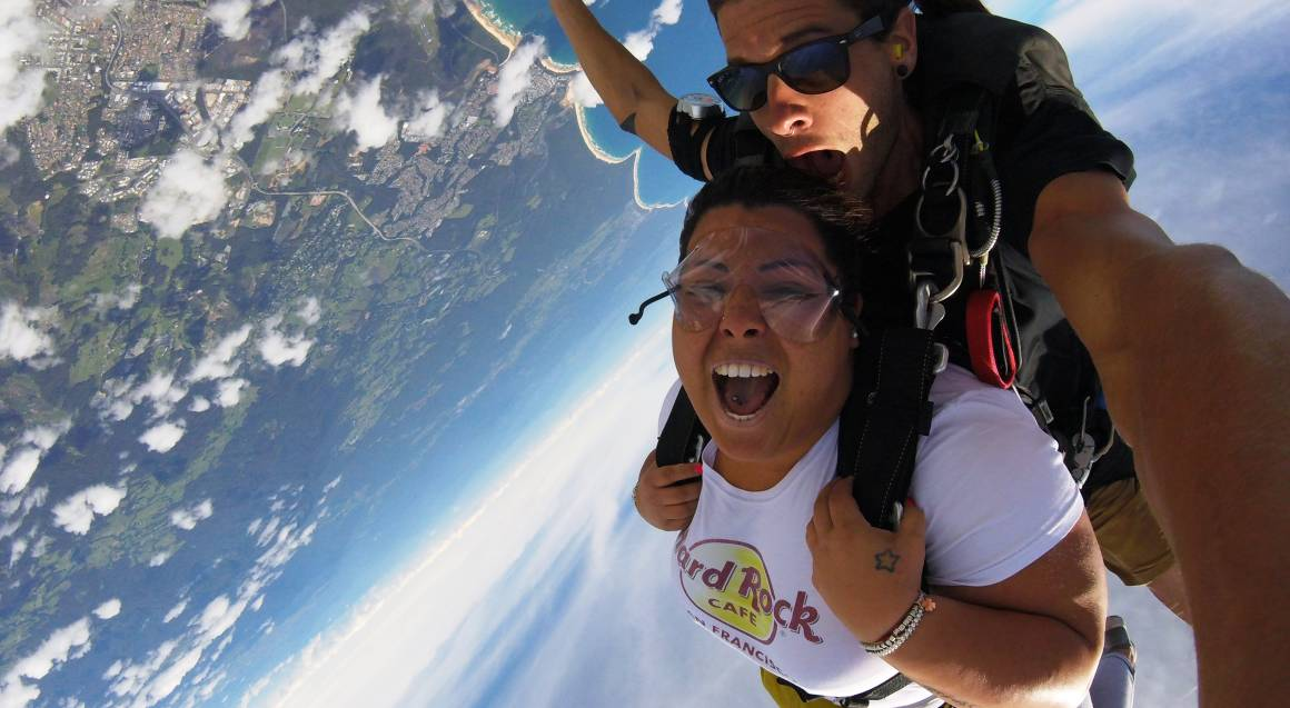 15,000ft Tandem Skydive Over Coffs Harbour