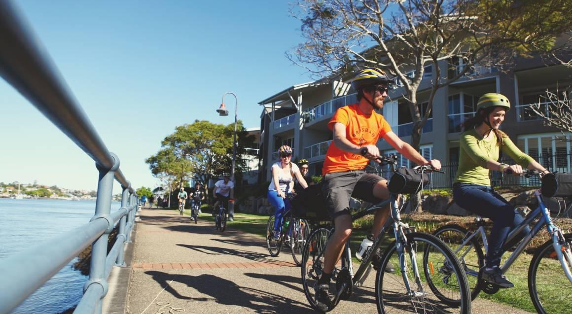 Essential Brisbane Guided Bike Tour