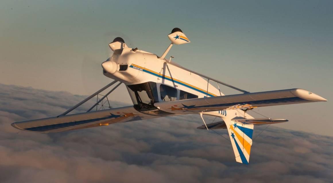 Aerobatic Joy Flight in 8KCAB Super Decathlon - 25 Minutes