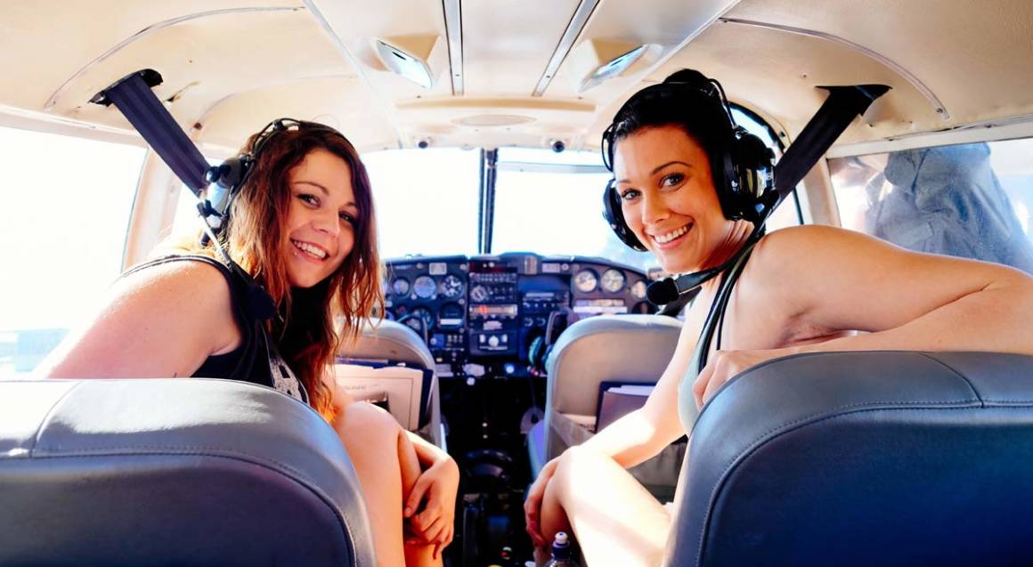 Sunset Champagne Scenic Flight