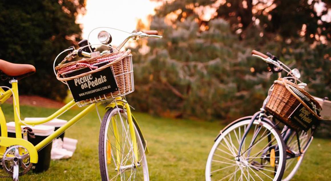 Vintage Bike Ride with Picnic - For 2