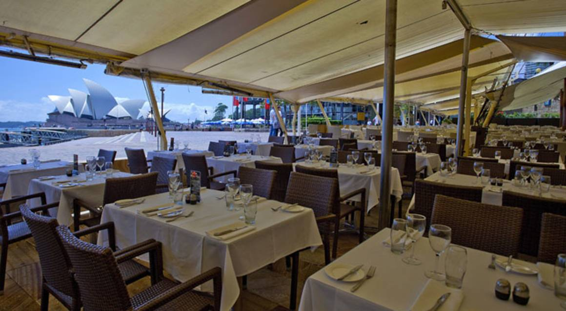 Waterfront 2 Course Meal and Bottle of Wine - For 2