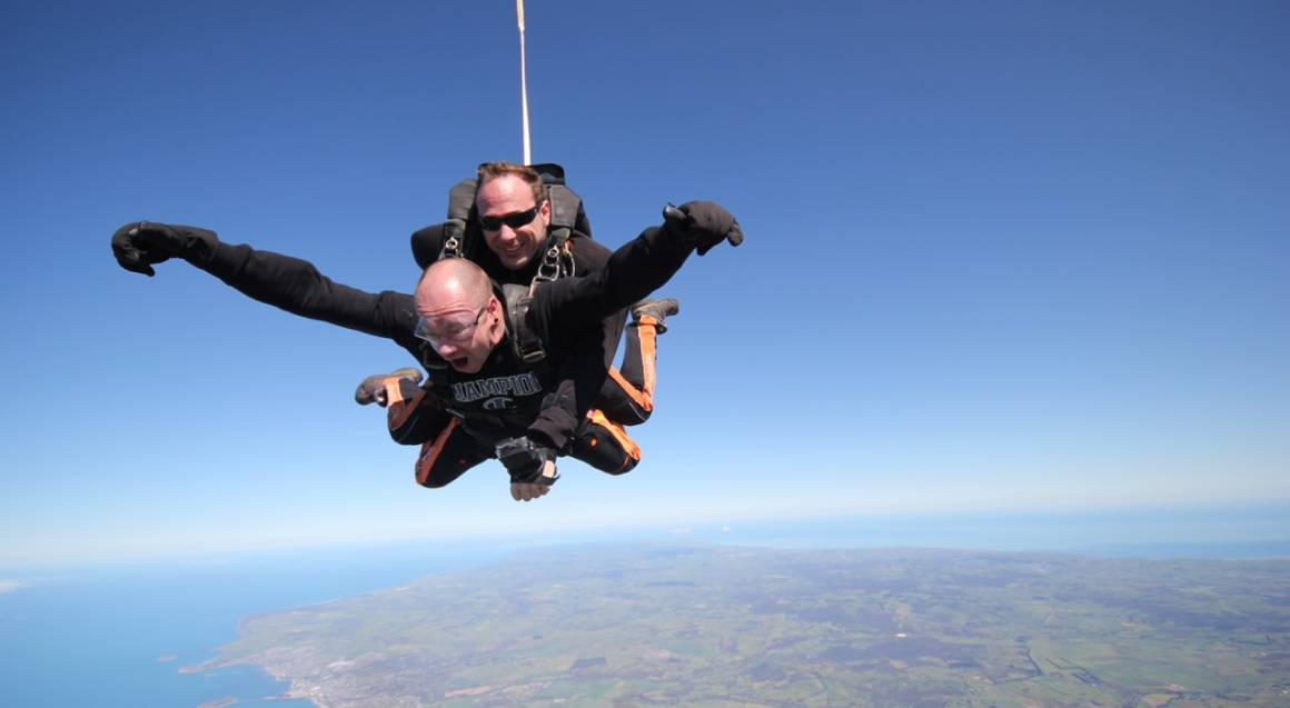 Skydive Tandem Jump - 15,000ft