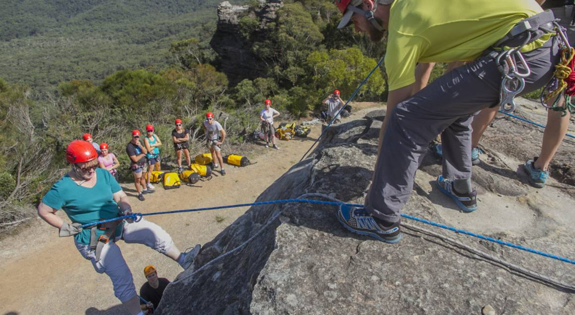 Blue Mountains Abseiling Adventure at Boars Head