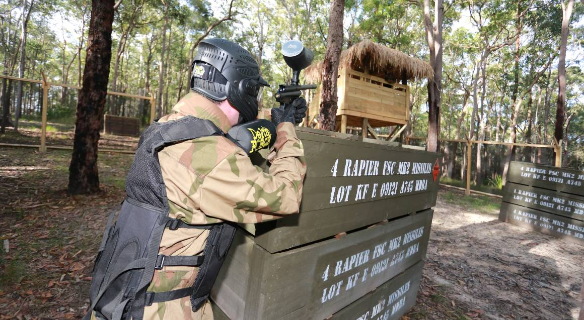 Group Paintball Experience - 100 Paintballs - Newcastle