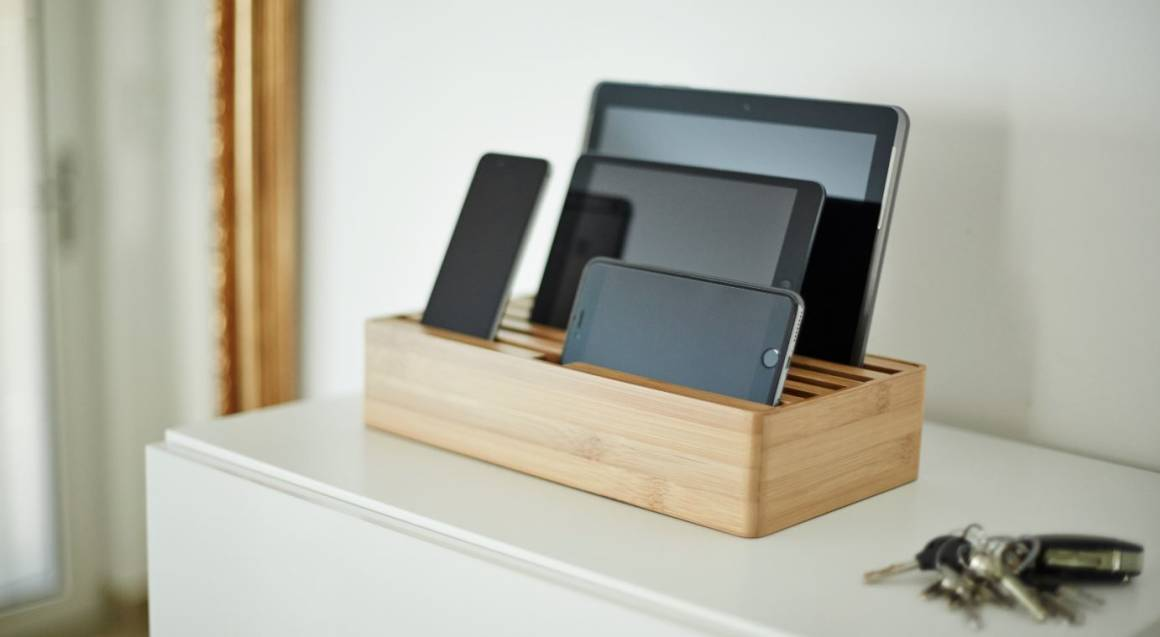 Bamboo Dock and Charge Station
