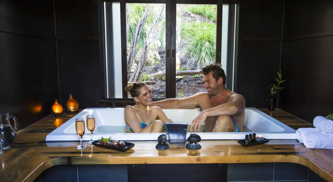 Hot Springs Bathe and Private Bath - 45 Minutes - For 2
