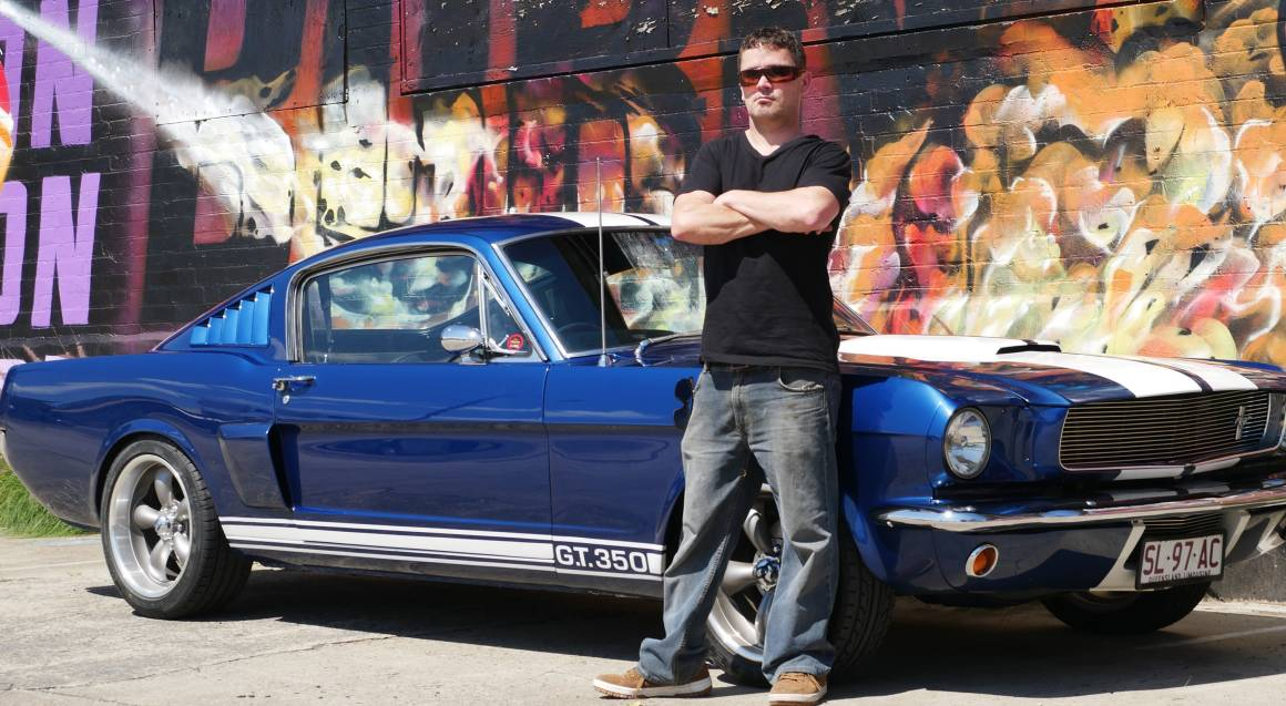1965 Ford Mustang GT350 brisbane hire