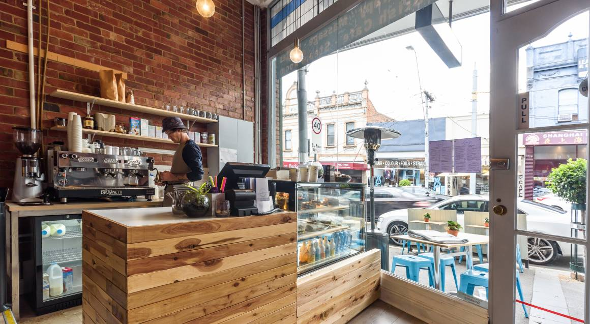 Euphoria Cafe and Wellness Centre view from inside