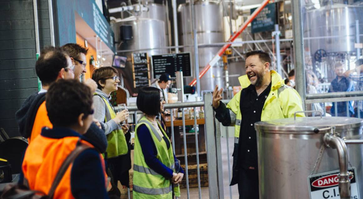 Melbourne Urban Beer Tour With Lunch