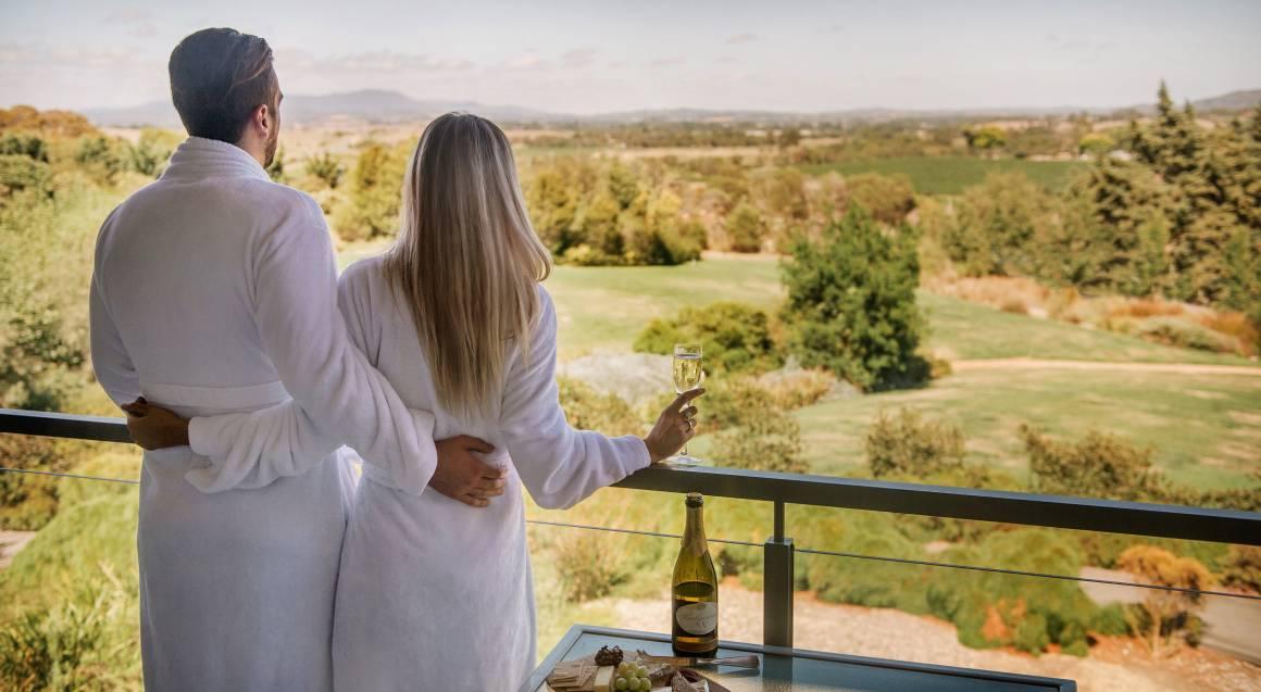 balgownie estate yarra valley privilege spa suite balcony view