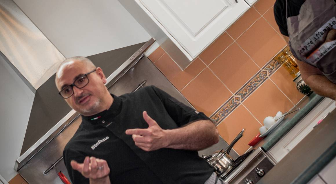Private Italian Cooking Class at Home - For 4