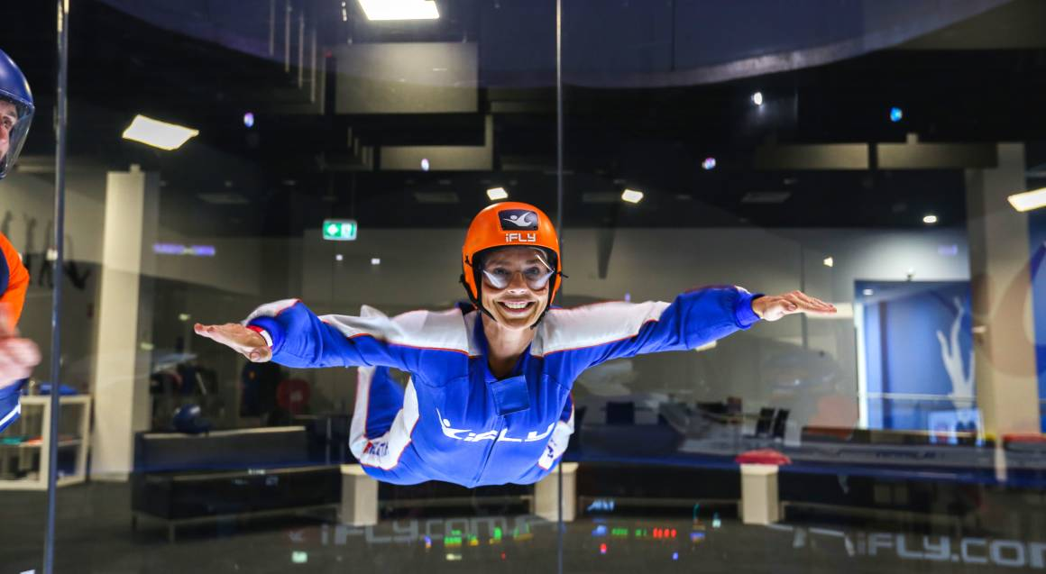 Indoor Skydiving Intro Midweek - 2 Flights - Penrith