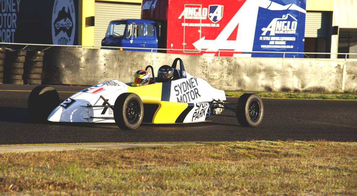 F1 Style 2-Seater Race Car Hot Laps - 4 Laps - Weekend