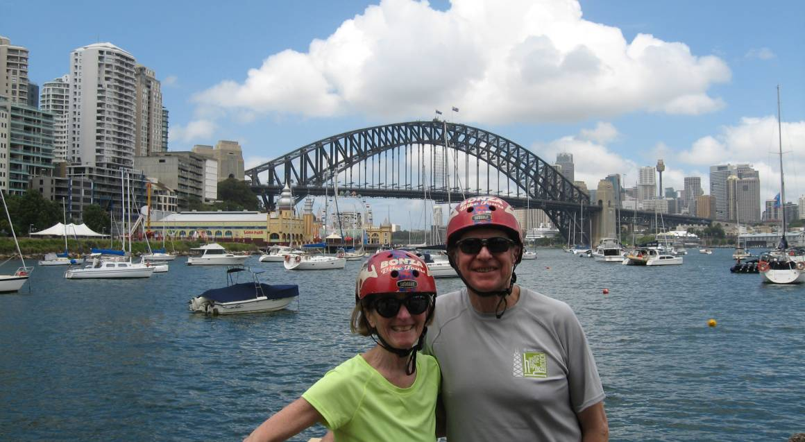 Harbour Bridge Bike Tour with Lunch