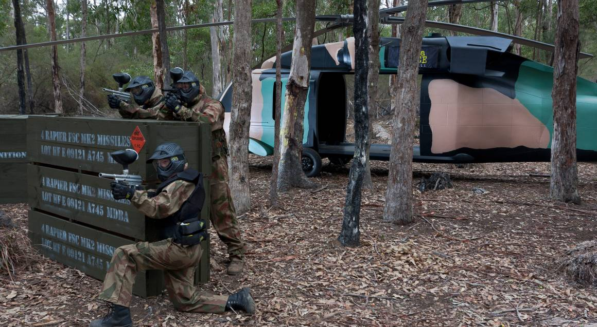 Group Paintball Experience - 100 Paintballs - Appin, NSW