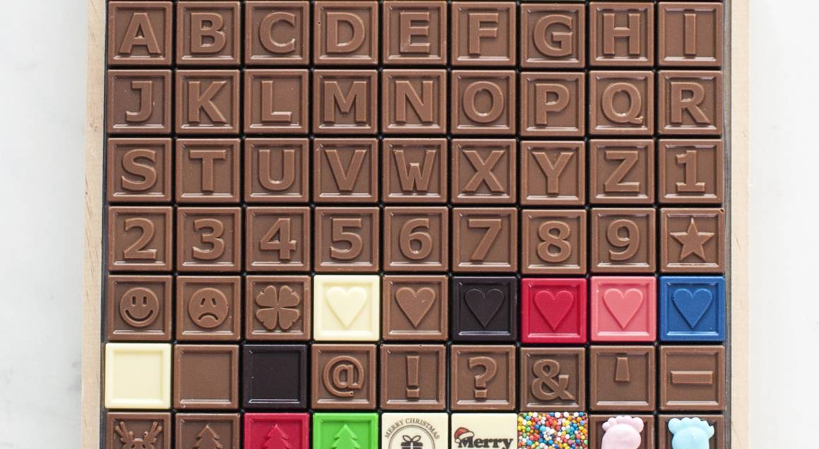 Personalised Chocolate Message - 20 Characters