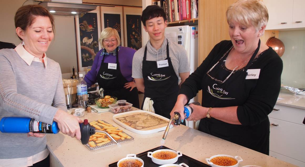 French Odyssey Cooking Class with Wine