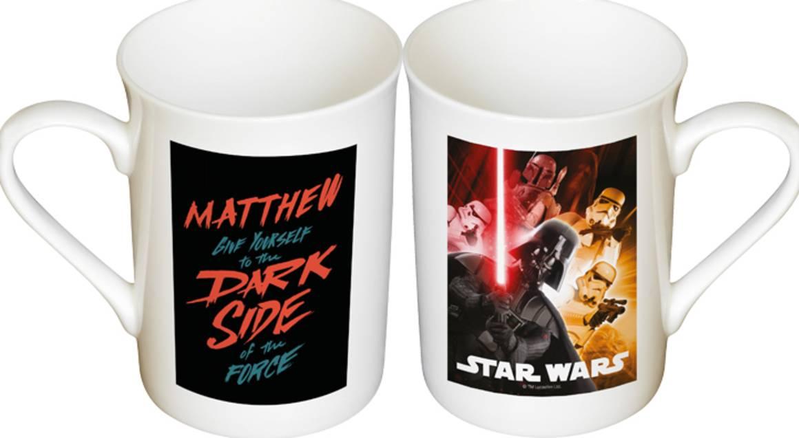 Personalised Star Wars Mug Set