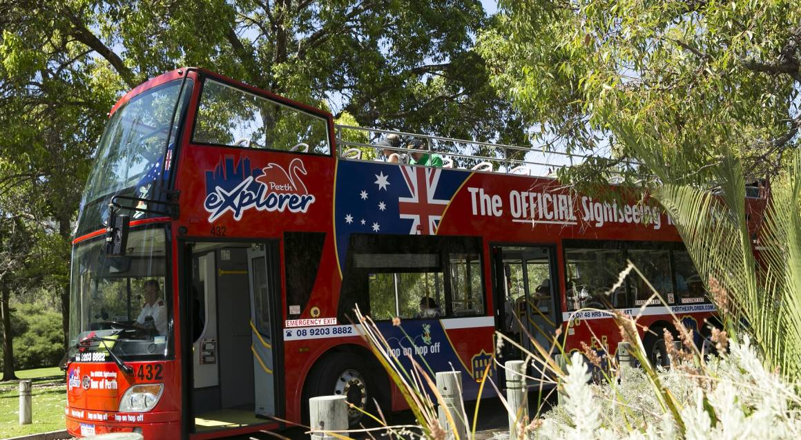 Open Top Bus Tour of Perth and Kings Park