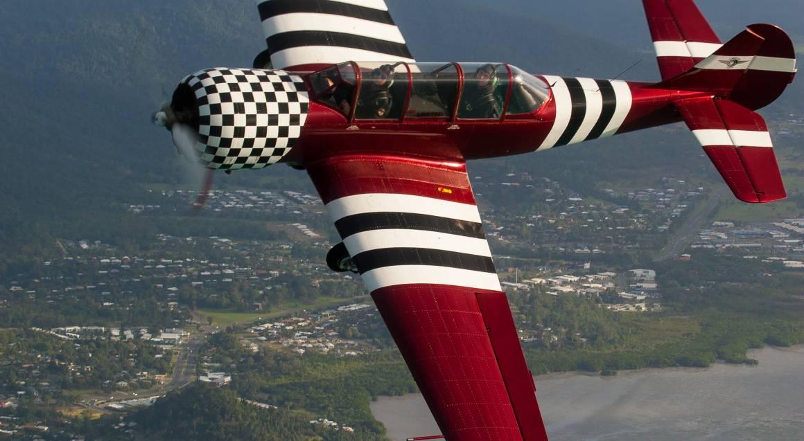 Tactical Recon Mission - Aerobatic Flight - 30 Minutes