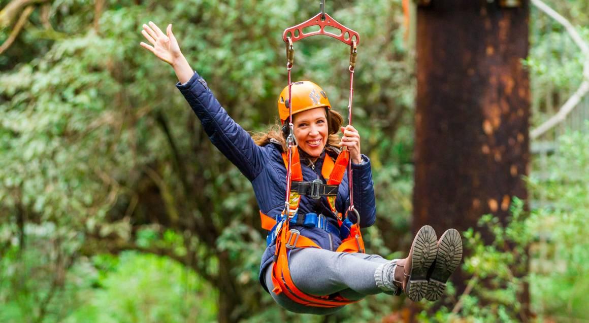 Otway Treetop Ziplining Adventure
