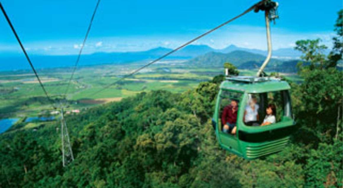 Green Island Cruise, Skyrail and Scenic Railway Adventure