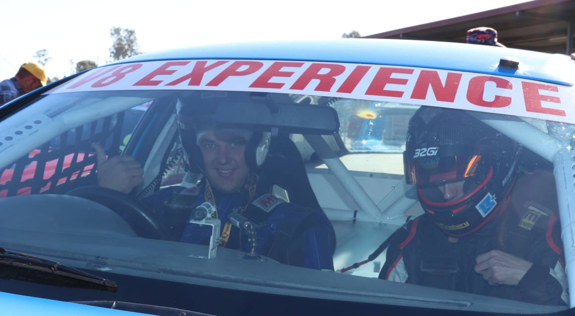 V8 Race Car Driving Experience - 6 Laps - Brisbane