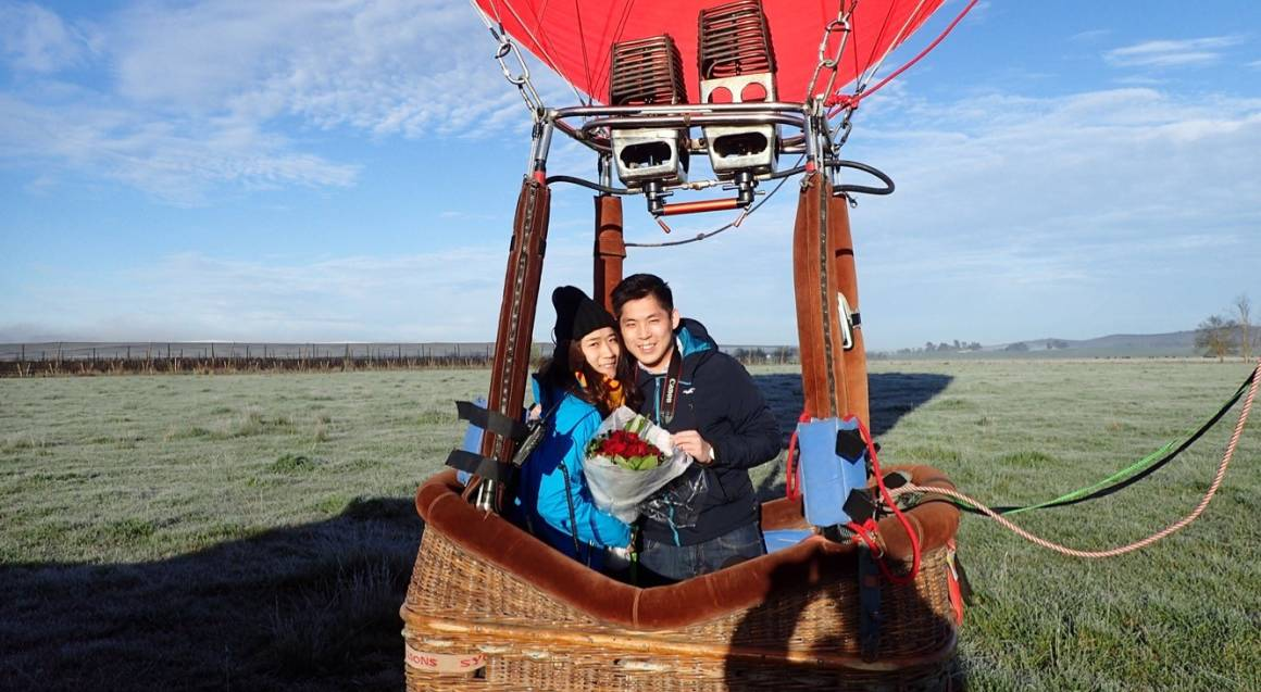 Proposal Package: Private Balloon Flight Over Yarra Valley