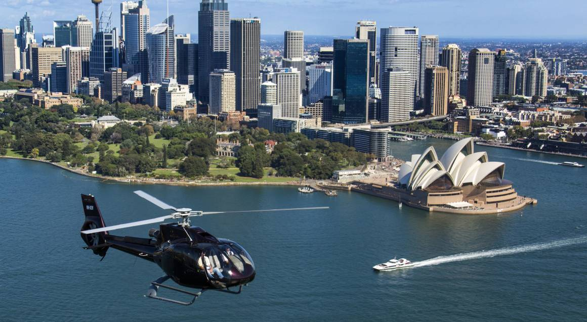 Sydney's Greatest Sights Helicopter Tour - 60 Minutes