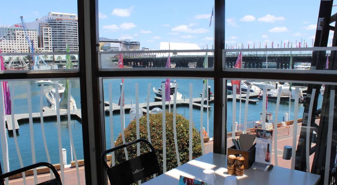 inside blackbird cafe venue darling harbour