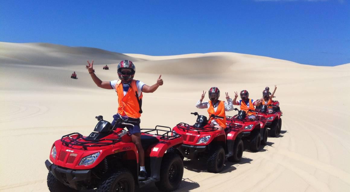 Quad Biking, Sand Boarding and Aboriginal Culture Tour