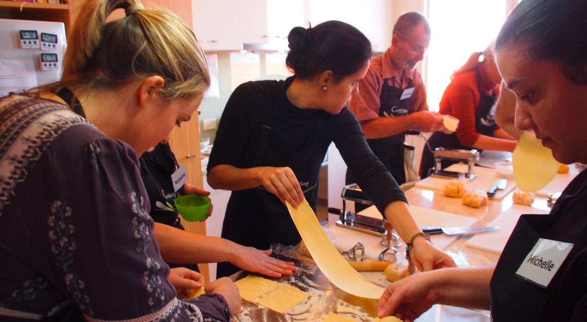 Passionately Italian Cooking Class with Wine