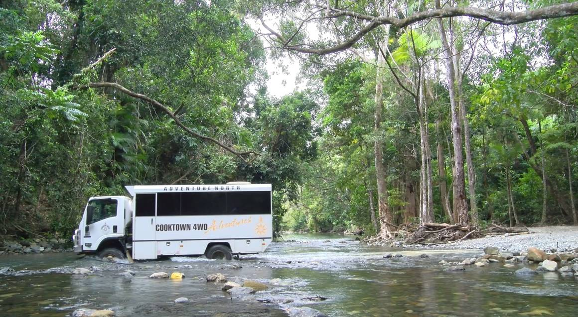 4WD Backstage Pass to Tropical North QLD plus Lunch