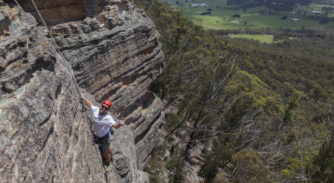 Introduction to Rock Climbing - Blue Mountains