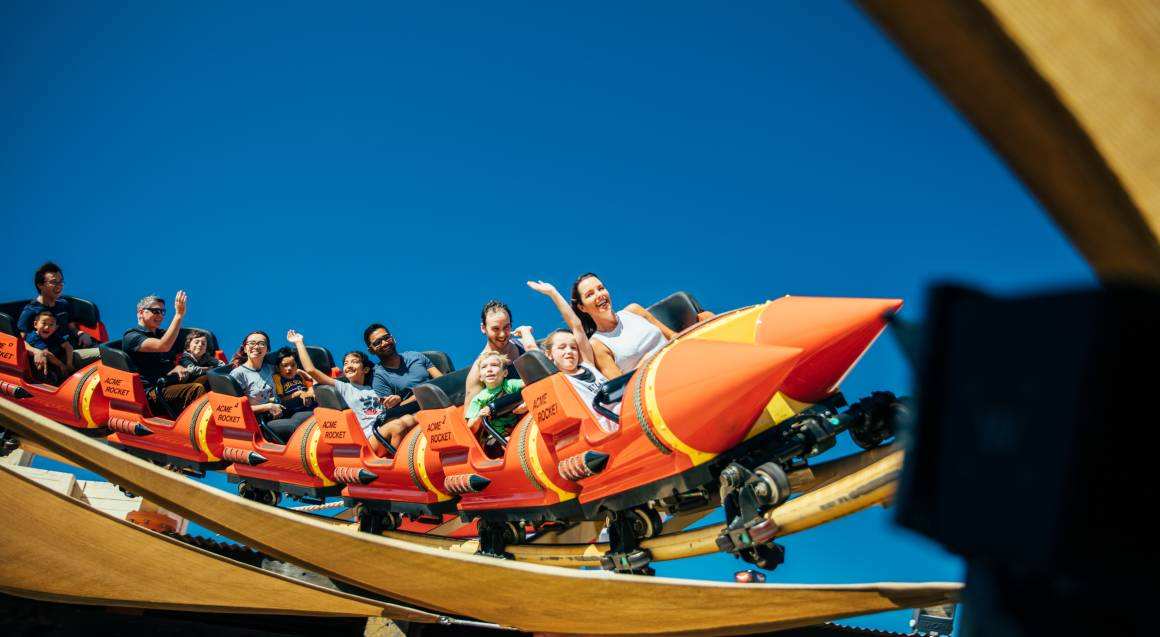Movie World and  Sea World Super Pass - Two Day Entry