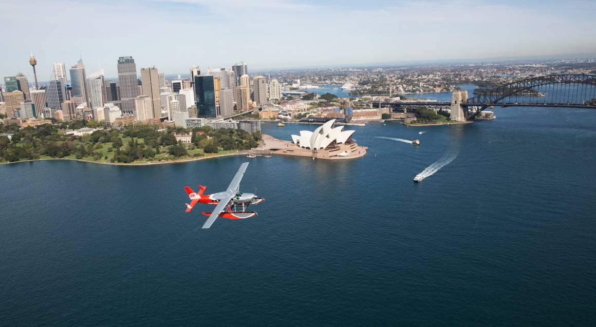 Seaplane Flight with Island Picnic and Champagne - For 2