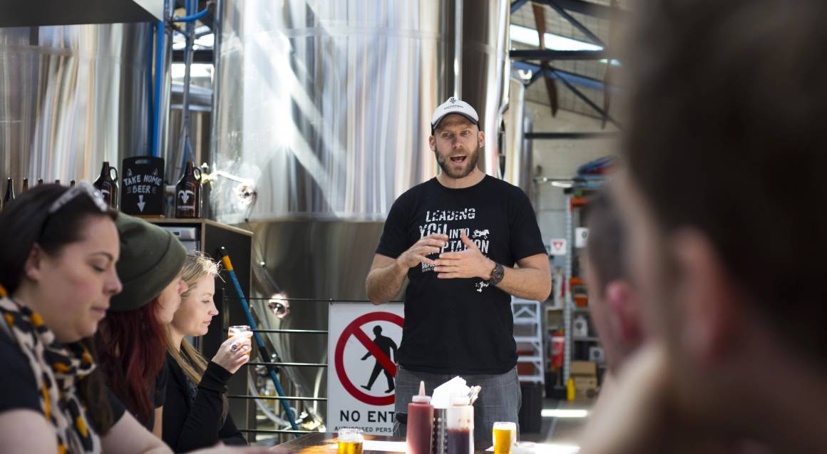 South Melbourne Brewery Tour with Lunch - Group