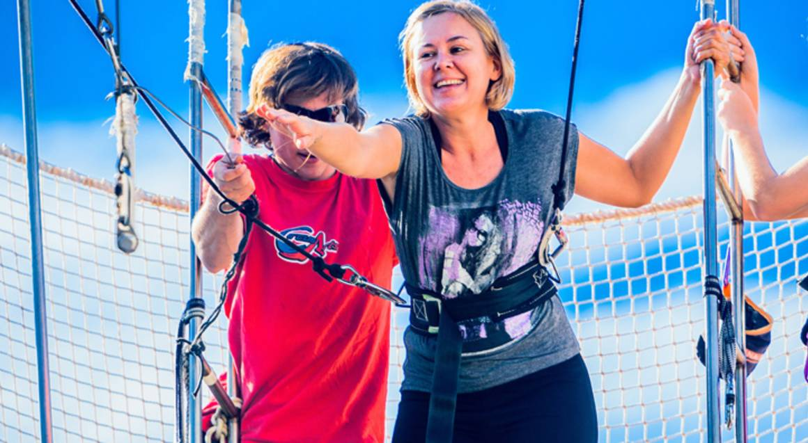 Flying Trapeze Workshop in Brisbane - For 2