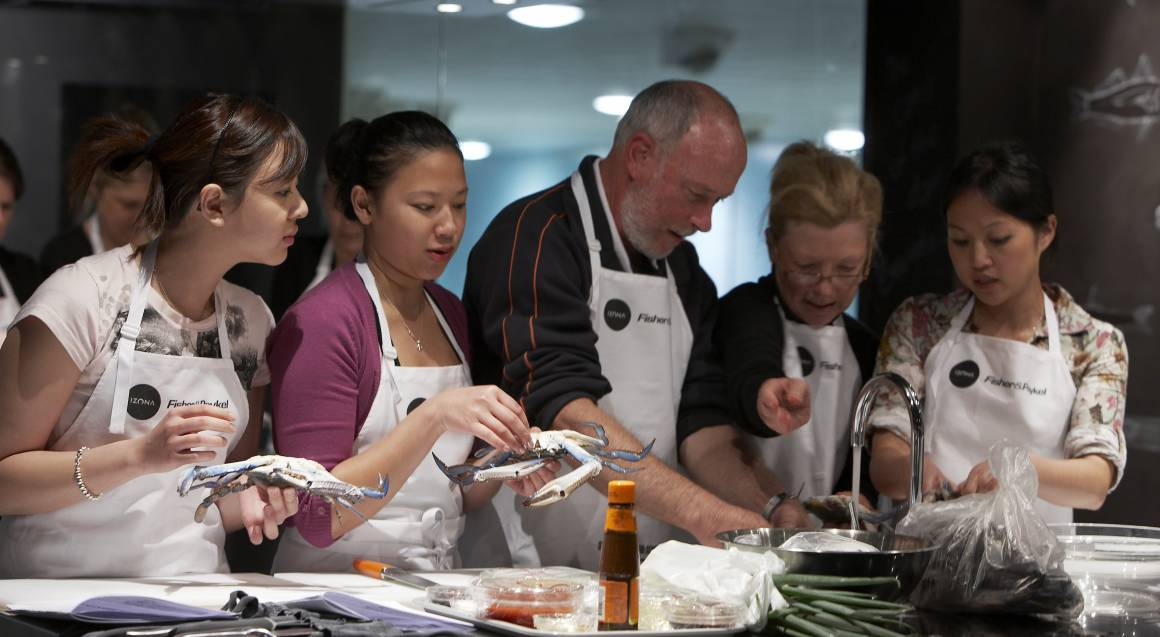 Sydney Fish Market Seafood BBQ Cooking Class