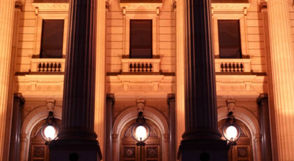 old melbourne ghost tour parliament house at night