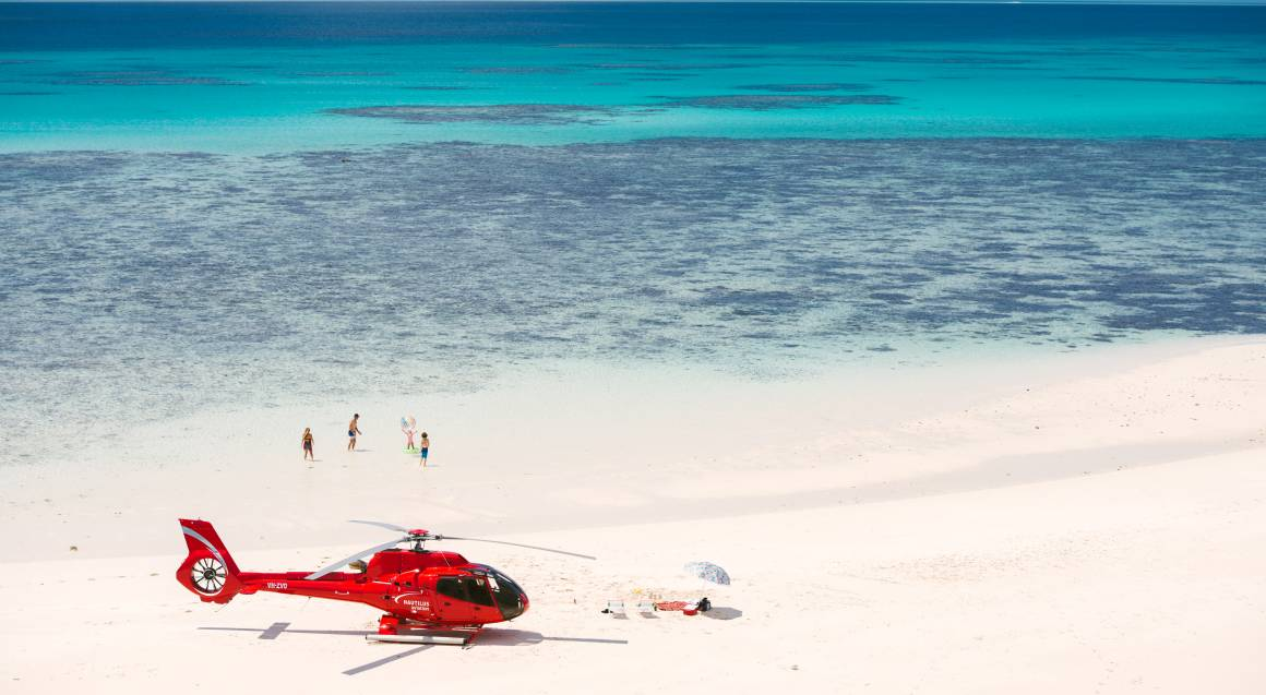 Private Helicopter with Gourmet Picnic and Sparkling - For 2