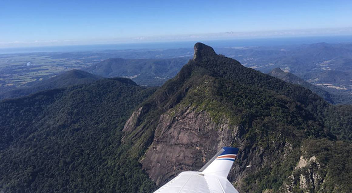 Mt Warning and Border Ranges Scenic Flight - 75 Mins
